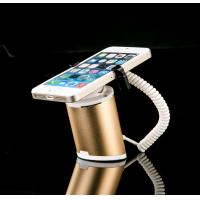 Best COMER security mobile phone counter display stand with alarm and charging cable for phone shops wholesale