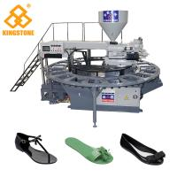 Best Single Color Rotary Sandal Making Machine For Plastic PVC Shoes Injection Moulding wholesale