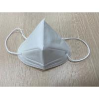 Best Stocked KN95 Disposable Pollution Mask White Color Three Dimensional Breathing Space wholesale