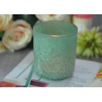 Best Luxury Glass Candle Holders Beautiful Feather Painted Candle Holders For Decoration wholesale