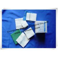 Best Surgical Medical Gauze High Absorbency Low Linting Plain Skin Cleansing Swabs White Green / Blue wholesale