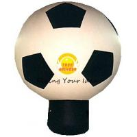 Best Giant Attractive Inflatable Advertising Balloon For Promotion With Football Shape wholesale