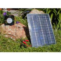 Best High Quality Fashionable Design Solar mini Fan with LED Light wholesale