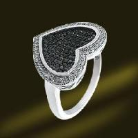 Buy cheap Micro Pave Silver Jewellry in Heart Shape Vatine′s Day Gift (RSA3489) from wholesalers