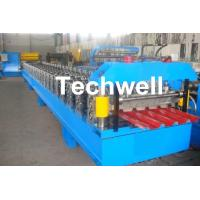 Best IBR Roofing Sheet Roll Forming Machine / IBR Panel Forming Machine For Making Roof Wall Cladding wholesale