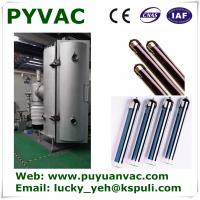 Quality solar vacuum tube three target coating machine for glass,assembly line equipment,pvd coating machinery,vacuum coating wholesale