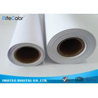 Best 30M Polypropylene Inkjet Synthetic Paper , Matte Water Resistant Printer Paper Roll wholesale