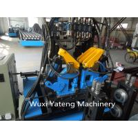 Quality Interchangeable C / Z Purlin Cold Roll Forming Machine / Equipment With Customerized Voltage wholesale