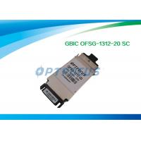 Best Duplex Single Mode SFP Optical Transceiver 1.25G GBIC - LX Optical Transceiver Module 1310nm 20KM SC wholesale