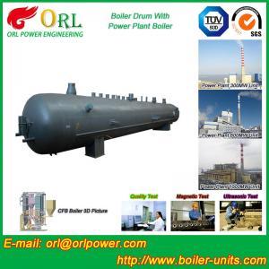 Best Oil Industry Heating Boiler Mud Drum , Compact ASTM Mud Drum In Boiler wholesale