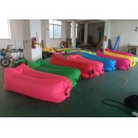Best Easily Carrying Inflatable Sofa Bed Colorful Printing For Beach Resting wholesale