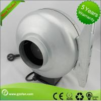 Buy cheap galvanised Sheet Steel Circular Inline Fan Insulation Class F The Wood Shop from wholesalers