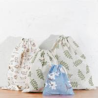 Best Travel Storage Bag Reusable Cute Pattern Printed Drawstring Backpack Bag wholesale