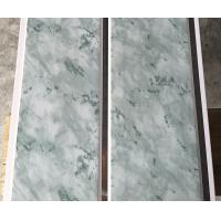 Best 25cm Middle Groove Printing Ceiling PVC Panels Easy Install / Cleaning wholesale