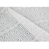 Buy cheap Embroidered Guipure Water Soluble Lace Cotton Chemical Lace Fabric For Clothing from wholesalers