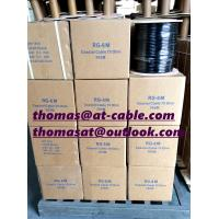 Best RG6 Coaxial Cable CCA With 1.23mm Steel Messenger wholesale