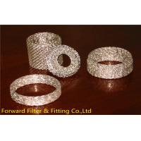 Quality SUS304 / 304L / 316 / 316L Stainless Steel Knitted Wire Mesh for Liquid Filtration wholesale