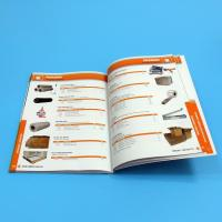 Best Paper / Paperboard Perfect Binding Catalogue Printing Service Customized A4 / A3 / A5 wholesale