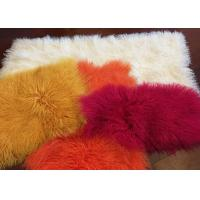 Best Mongolian Sheepskin Rug Home Fashion Decorative Throw Long curly sheepskin fur wholesale