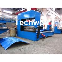 Best Auto Crimping Cold Roll Forming Machine , Arch Metal Roofing Forming Machine wholesale