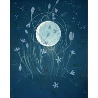 Best moon oil painting on canvas wholesale