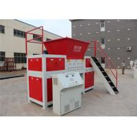Best High Capacity Double Shaft Shredder Machine , Small Plastic Shredder Machine  Reverse Functions wholesale