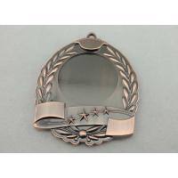 Best High quality Zinc Alloy / Pewter 3D Die Cast Medals for Sport Meeting, Army, Awards with Antique Copper Plating wholesale
