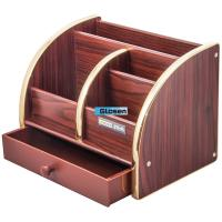Cheap Combination Desk Office Pen Holder With Drawer Large Capacity wholesale