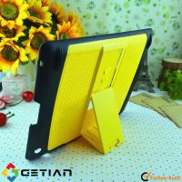 China Stand Mini Notebook iPad Protective Cases Covers for Protection , Yellow Colored on sale