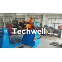 Best Active Uncoiling , Hydraulic To Expand 5, 10, 15 Ton Hydraulic Uncoiler / Decoiler With Coil Width 1500mm wholesale