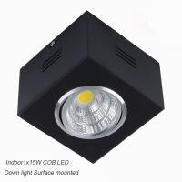 Best IP42 Surface mounted CreeCOB 15W Ceiling down light&LED Grille light wholesale