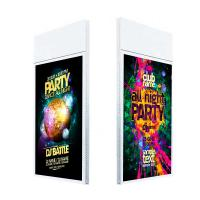 Best Hanging double sided lcd advertising screen with remote control software wholesale