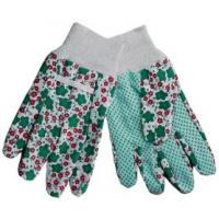 Best 10g Cotton Lining Green Polyurethane Rubber Dipped Garden Gloves wholesale