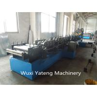 CNC Machining  CZ Purlin Roller Forming Machine Gcr15 Material 18 Roller Stations