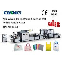 Best Carry Bag Manufacturing Machine / Non Woven Bag Making Machine Approved CE wholesale