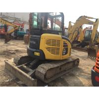 Best 12V Voltage second Hand Mini Diggers Komatsu PC55MR - 2 With 72 Ah Battery wholesale
