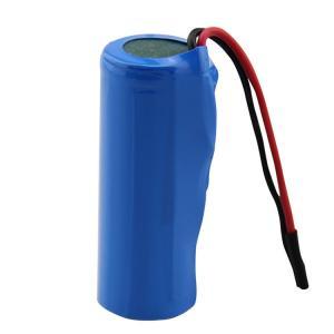 Best 18500 MSDS 1400mAh Li Ion 3.7 V Battery IEC62133 wholesale