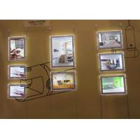 Best Restaurants Led Acrylic Light Box DisplayDouble Sided A4 Size For  Advertising wholesale