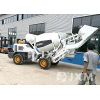 China Industry Self Loading Concrete Mixer 1.5 Cubic Meter Concrete Mobile Mixer on sale