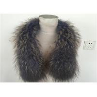 Best Eco-Friendly True 100% Raccoon Fur Collar Genuine Shawl Wrap Great wholesale