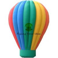 Best Customized Color Inflatable Advertising Balloon With Air Balloon Shape For Trade Fair wholesale