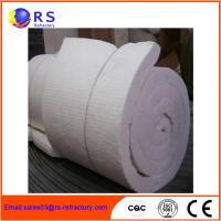 Best White Ceramic Insulation Blanket For Boiler / Refractory Ceramic Fire Blanket wholesale