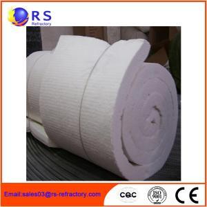 Best White Ceramic Insulation Blanket For Boiler / Refractory Ceramic Fire Blanket wholesale