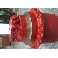 Best Hyundai R225-9 Volvo EC210 Excavator Final Drive Motors With Gearbox TM40VC-05 Red Color wholesale