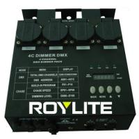 Best Theatrical 4 Channel DMX Dimmer Packs 3Pin 6.3A / ch For Lighting Control wholesale
