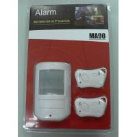 Best Low Indicator Wireless PIR Motion Sensor Alarms CX - MA90 - I With Two Remote Control wholesale