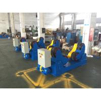 Best Motorized Moving 40 Ton Self-aligned Welding Rotator Turning Rolls, Coated With PU Wheels wholesale