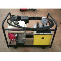 China 80Mpa High Pressure Hydraulic Oil Pump With Petrol Engine For Power Supply on sale