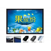 Best Acrylic Illuminated Poster Displays, Super Slim Exhibition Light Boxes For Trade Show wholesale