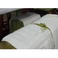 Buy cheap Woven Polypropylene Hay Bale Packaging Fabric Non Toxic 60 Gsm - 120 Gsm Density from wholesalers